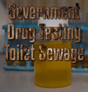 Government Drug Testing Toilet Sewage