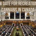 New Date For Recreational Cannabis in Canada
