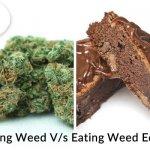 Smoking weed vs eating weed edibles